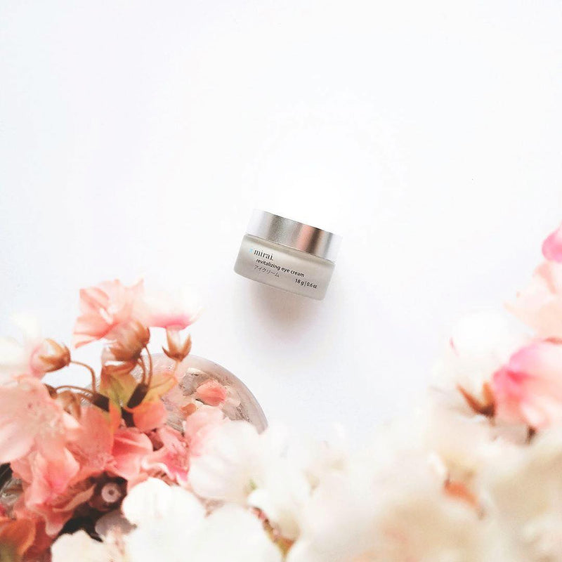 Revitalizing Eye Cream with Japanese Cherry Blossom Mirai Clinical