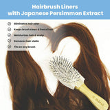 Deodorizing Hair Brush Liner with Persimmon Mirai Clinical