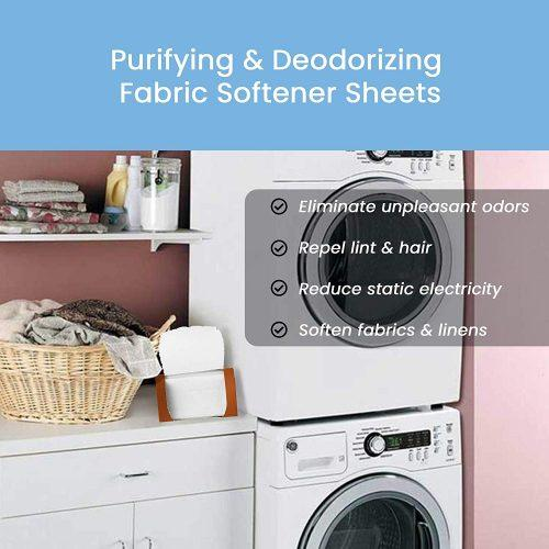 Purifying & Deodorizing Fabric Softener Sheet With Japanese Persimmon