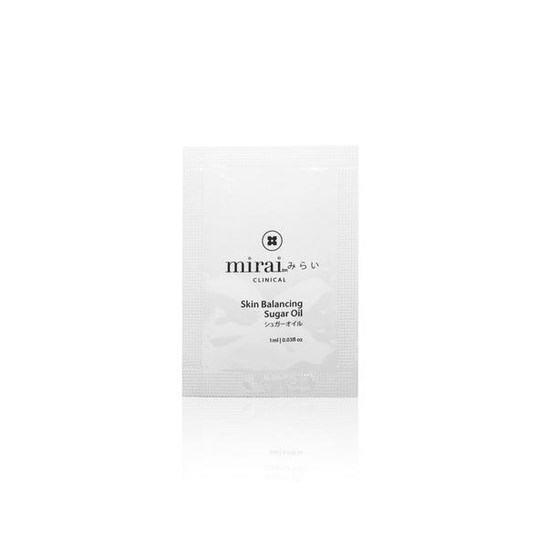 Skin Balancing Sugar Oil – 5-Pouch Travel Set Mirai Clinical