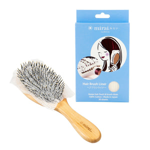 Deodorizing Hair Brush Liner with Persimmon