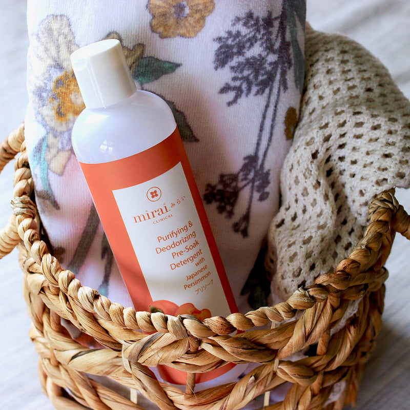 Purifying & Deodorizing Pre-Soak Laundry Detergent with Japanese Persimmon