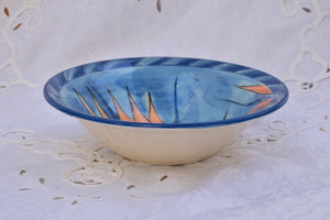 Wheel Thrown Decorative Ceramic Bowl in Stoneware - Lillie Ceramics