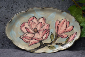 Oval Plate Mini in Stoneware - Lillie Ceramics