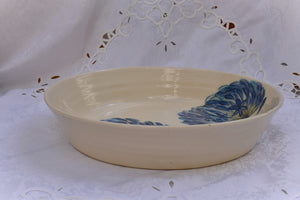 Hand Thrown Ceramic Serving & Oven Dish in Stoneware - Lillie Ceramics