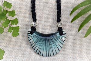 Ceramic Shield Necklace - Lillie Ceramics