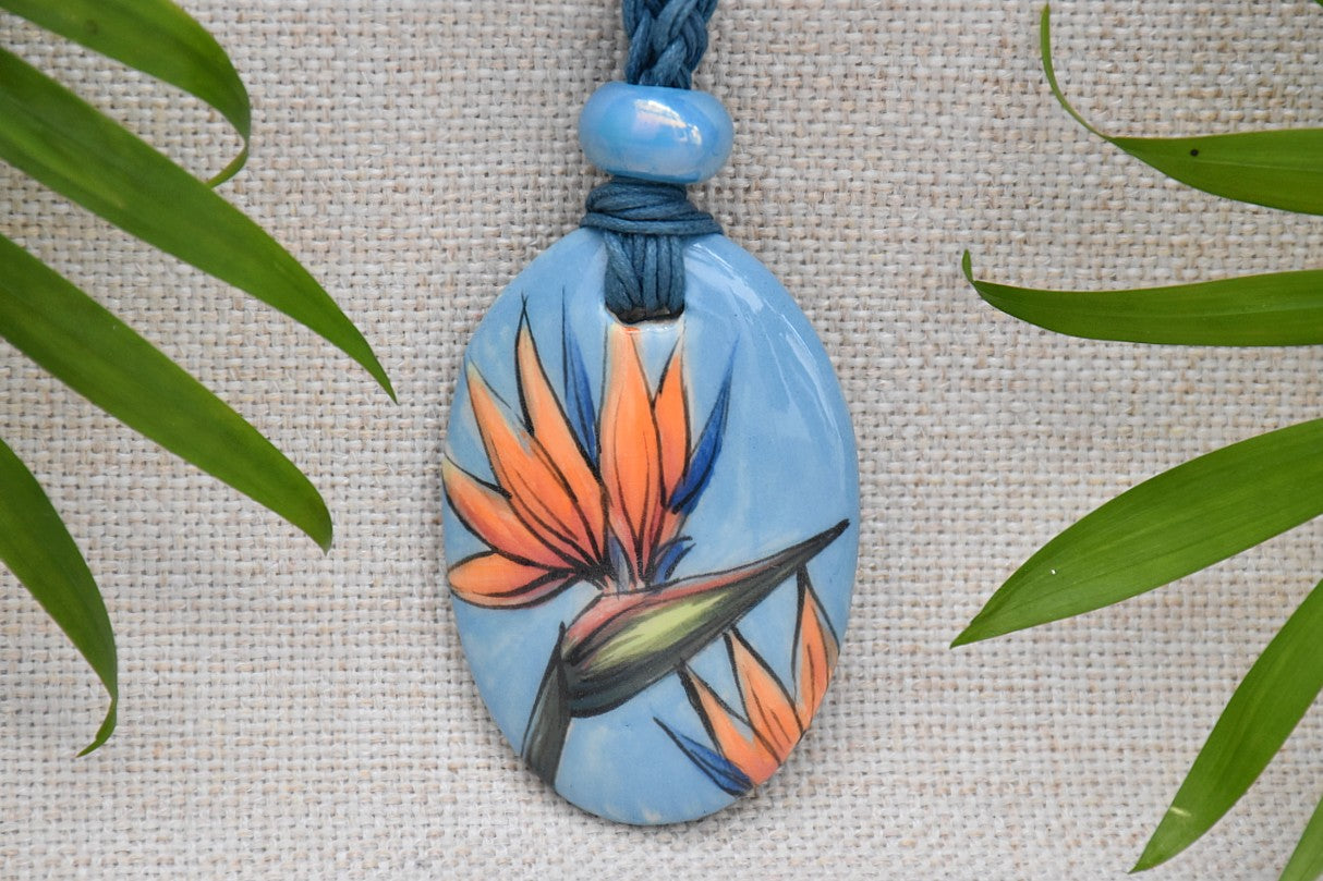 Ceramic Amulet Necklace - Lillie Ceramics