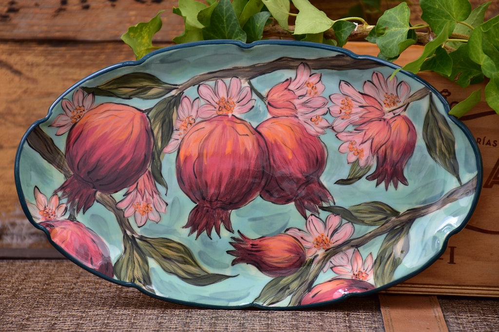 Serving Platter in Stoneware - Lillie Ceramics