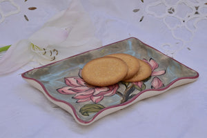 Hand Crafted Ceramic Plate for Bread & Cake in Stoneware - Lillie Ceramics