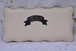 Handcrafted Ceramic Rectangular Serving Platter in Stoneware - Lillie Ceramics