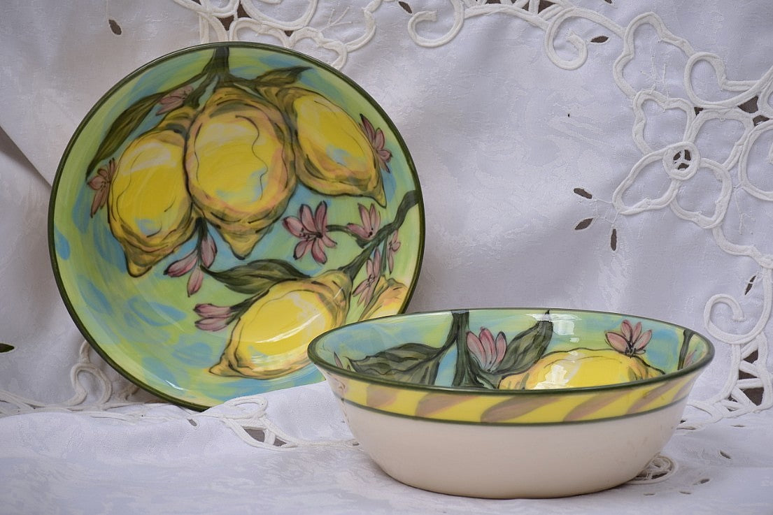 Hand Thrown Ceramic Bowl for Soup & Yoghurt in Stoneware - Lillie Ceramics