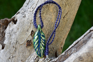 Ceramic Leaf Necklace - Lillie Ceramics