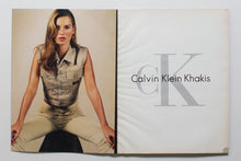 Load image into Gallery viewer, CALVIN KLEIN Khakis 1997 Beige Denim gilet
