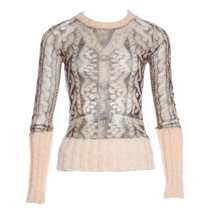 Load image into Gallery viewer, JEAN PAUL GAULTIER mesh knit top