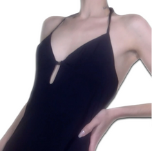 Load image into Gallery viewer, GIANFRANCO FERRÉ beach black dress
