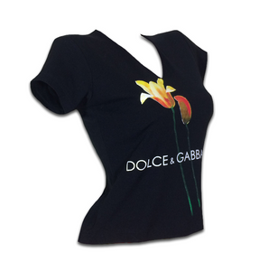 DOLCE & GABBANA tulips top