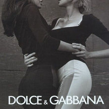 Load image into Gallery viewer, DOLCE&GABBANA black flare pant with lace skirt