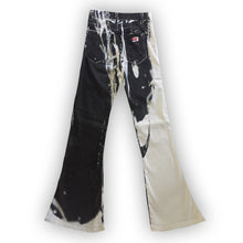 Load image into Gallery viewer, MISS SIXTY grafic black and white flare trouser