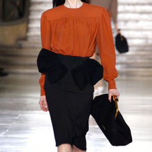 Load image into Gallery viewer, MIU MIU Retro geisha mini skirt/ Fall 2011