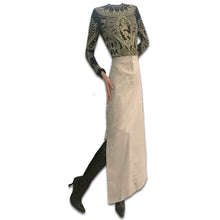 Load image into Gallery viewer, MORGAN DE TOI 90's parachute beige skirt