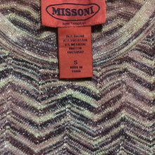 Load image into Gallery viewer, MISSONI Golden top