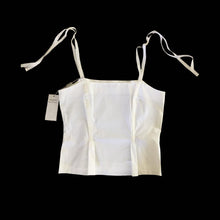 Load image into Gallery viewer, ALBERTA FERRETTI white cotton top