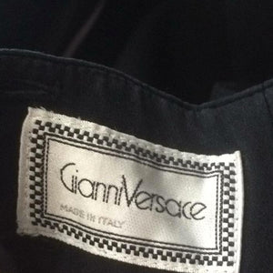 GIANNI VERSACE 90s Black dress