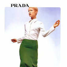 Load image into Gallery viewer, PRADA 90s White cotton shirt