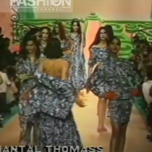 Load image into Gallery viewer, CHANTAL THOMASS SS1989 Black and white printed shirt