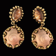 Load image into Gallery viewer, CHANTAL THOMASS Spring/ Summer 1990 Seashell Dangling earrings