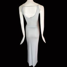 Load image into Gallery viewer, VERSUS Gianni Versace 90S Baby blue long dress with open back