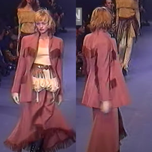CHANTAL THOMASS Fall 1993 Terracotta set/ 3 pieces