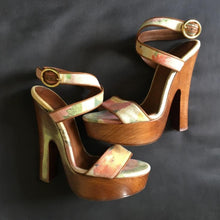 Load image into Gallery viewer, Dolce&Gabbana Wooden wedges