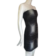 Load image into Gallery viewer, PRADA SS1998 Beaded strapless dress