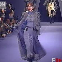 Load image into Gallery viewer, CHANTAL THOMASS Fall1993 Grey ruffle top+ skirt