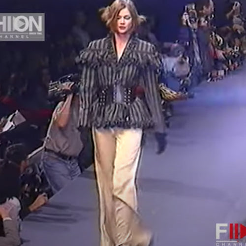 CHANTAL THOMASS FW1993 Ruffles grey set