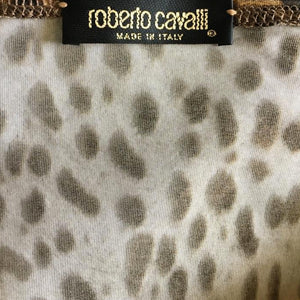 ROBERTO CAVALLI Fall/Winter 1998 Leopard top