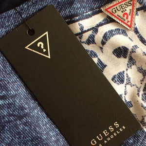 GUESS Blue Denim swimsuit/ 2016