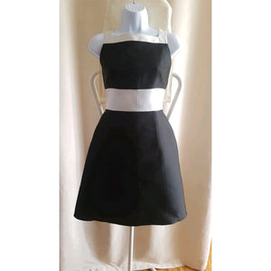 LOLITA LEMPICKA 1996 Black and white dress