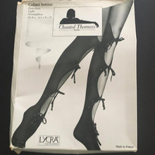 Load image into Gallery viewer, CHANTAL THOMASS SS 1992 Black tights with nodes