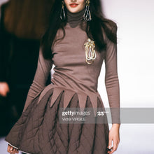 Load image into Gallery viewer, CHANTAL THOMASS A/W 1990 Grey turtleneck