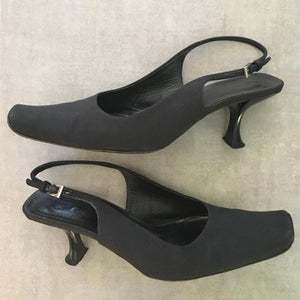 PRADA Black heel sandals