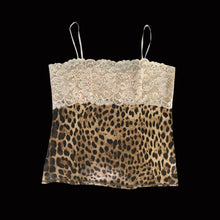 Load image into Gallery viewer, ROBERTO CAVALLI Fall/Winter 1998 Leopard top