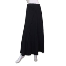 Load image into Gallery viewer, PHILOSOPHY Di Alberta Ferretti 90s grey wool long skirt with reverse seam