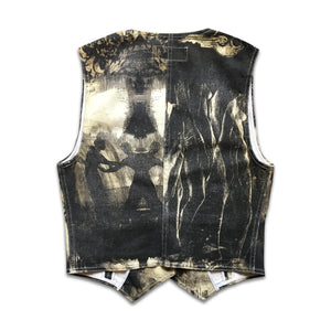 Roberto Cavalli FW 95/96 Printed shadows and renaissance gilet
