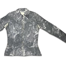 Load image into Gallery viewer, YOSHIKI HISHINUMA 90s grey pleated shirt