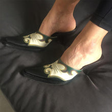 Load image into Gallery viewer, MIU MIU Cowboy mules