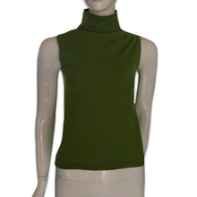 Load image into Gallery viewer, DKNY SS1996 Apple green turtleneck