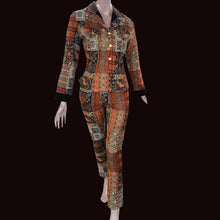 Load image into Gallery viewer, KENZO 90s Patchwork set Skirt+ Trouser+ jacket