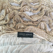 Load image into Gallery viewer, GIORGIO ARMANI SS2006 golden silk top